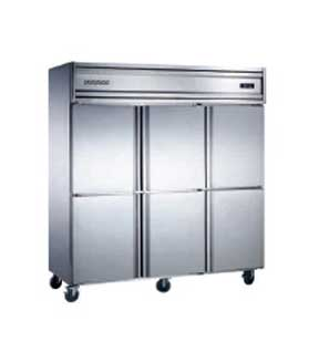 Stereo commercial refrigerator